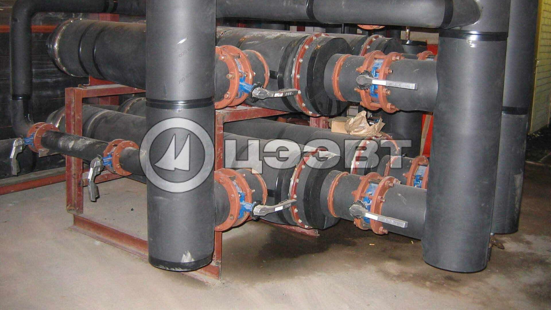 Типоразмерный ряд водо-водяных подогревателей типа ВВПИ